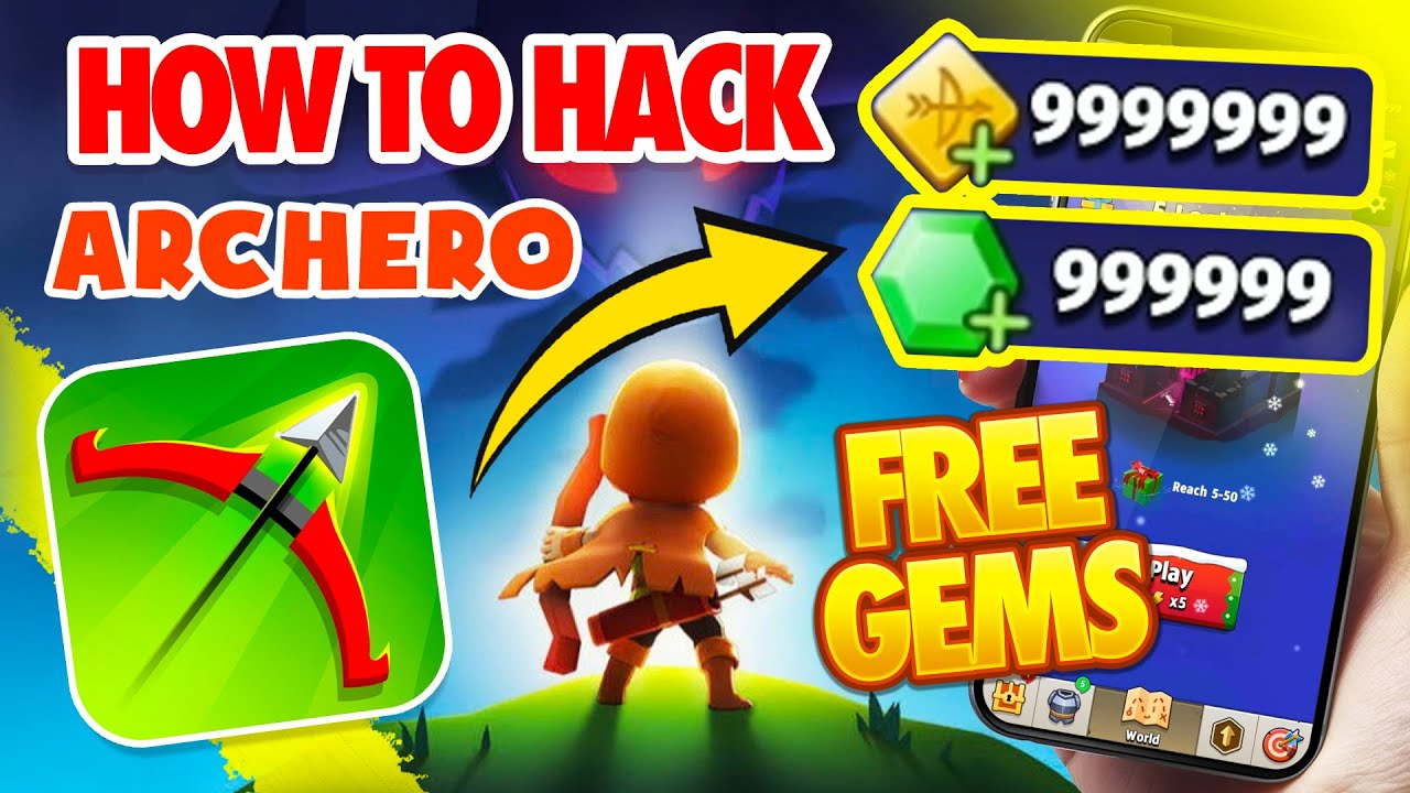 Archero-Hack-How-to-Hack-Archero-Free-Gems-Android-iOS